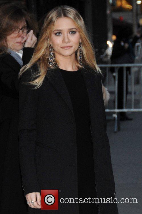 Ashley Olsen and David Letterman 6