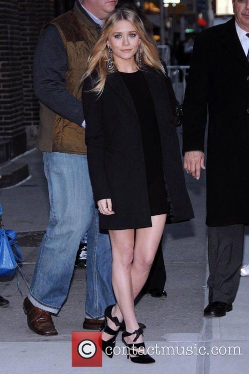 Ashley Olsen and David Letterman 4