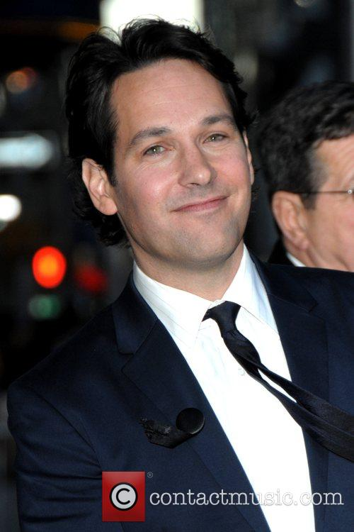 Paul Rudd and David Letterman 1