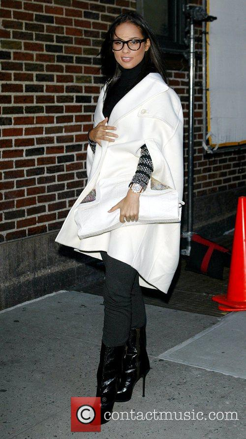 Alicia Keys and David Letterman 13