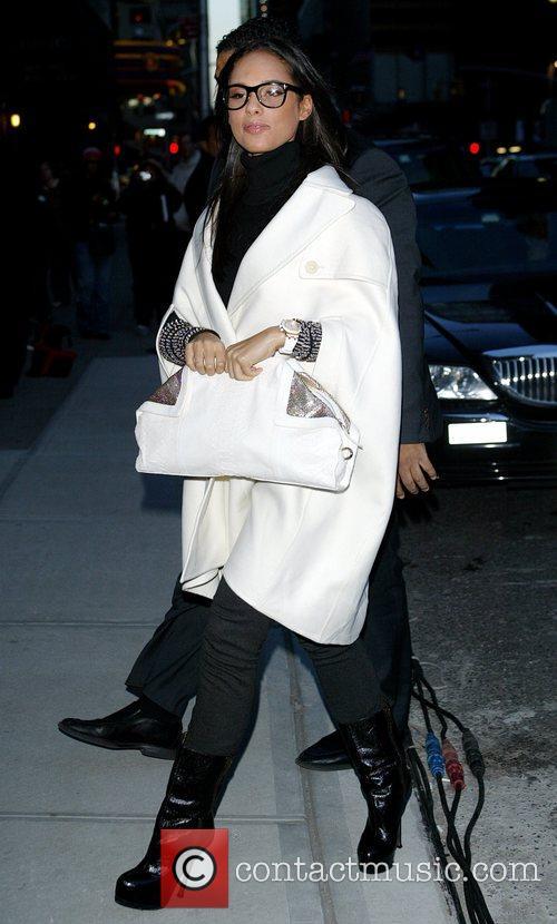 Alicia Keys and David Letterman 16