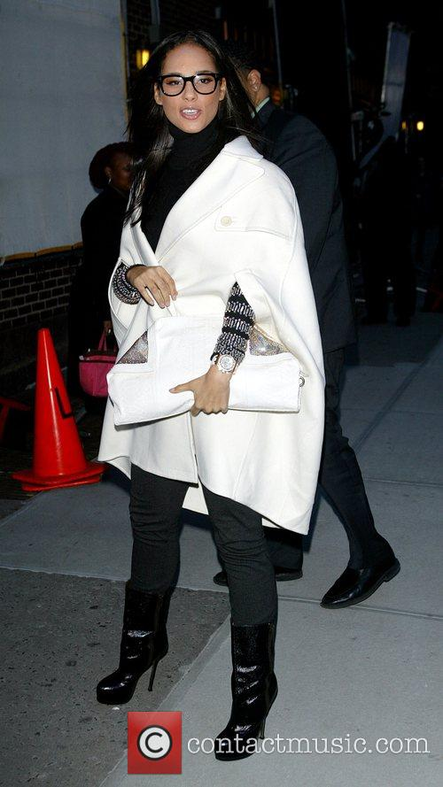 Alicia Keys and David Letterman 14