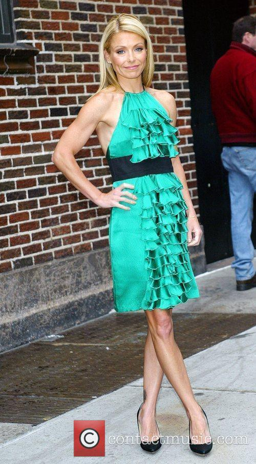 Kelly Ripa and David Letterman 10
