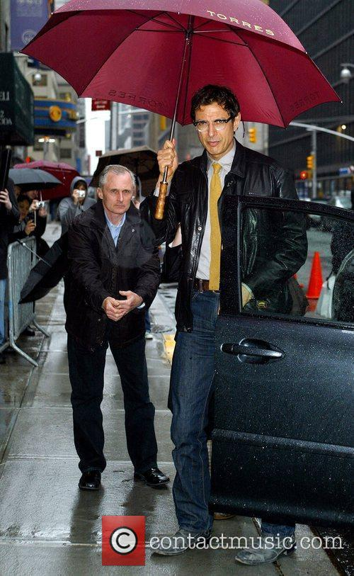 Jeff Goldblum, David Letterman