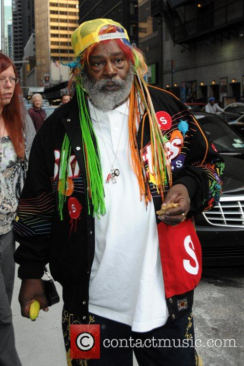 George Clinton and David Letterman 2