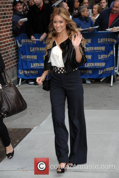 Lauren Conrad and David Letterman 3