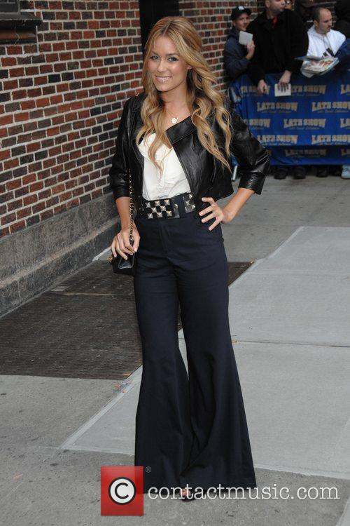 Lauren Conrad and David Letterman 2