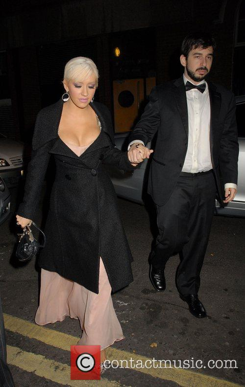 Christina Aguilera and Jordan Bratman 10
