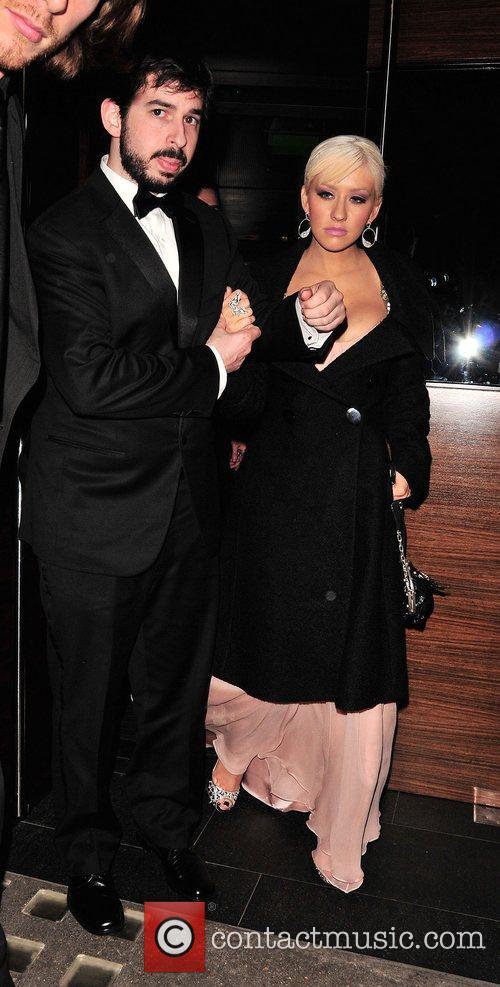 Christina Aguilera and Jordan Bratman 9