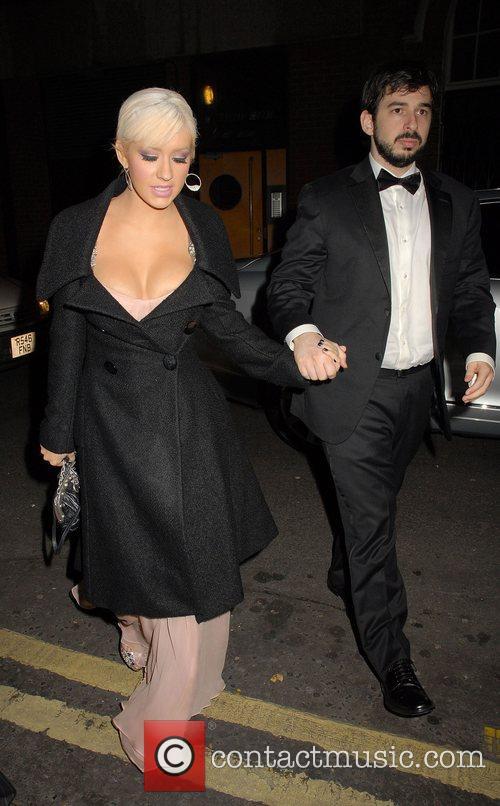 Christina Aguilera and Jordan Bratman 11