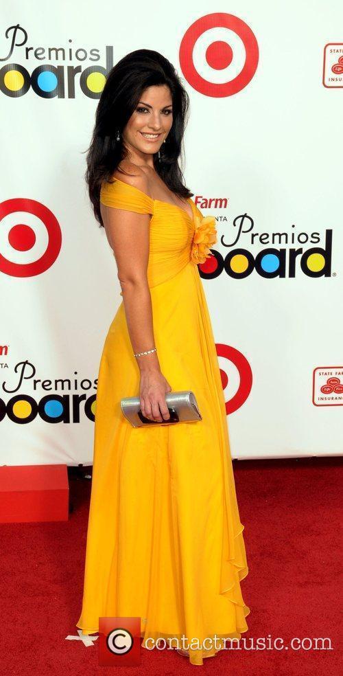 Angie Russian The 2009 Billboard Latin Music Awards...