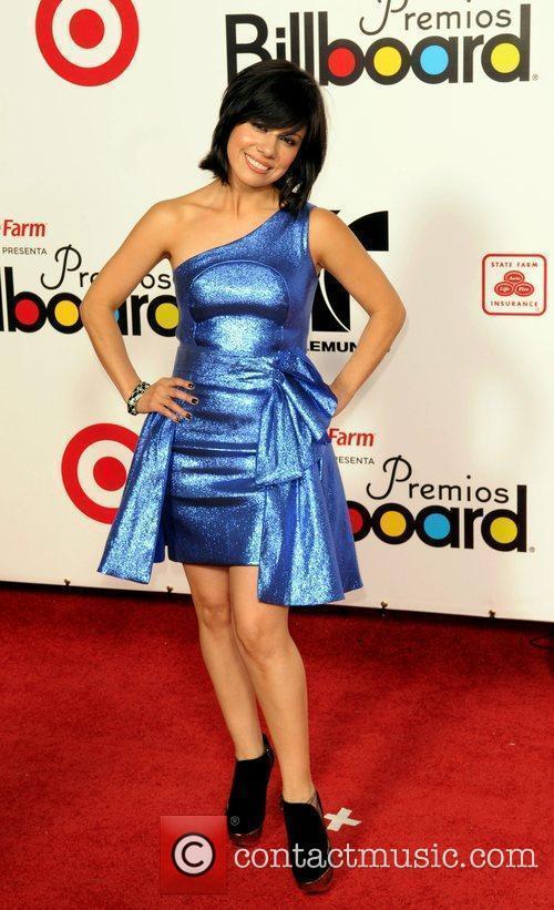 Luz Rios The 2009 Billboard Latin Music Awards...