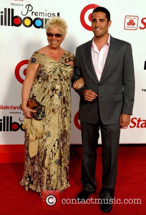 Maite Prida and guest The 2009 Billboard Latin...