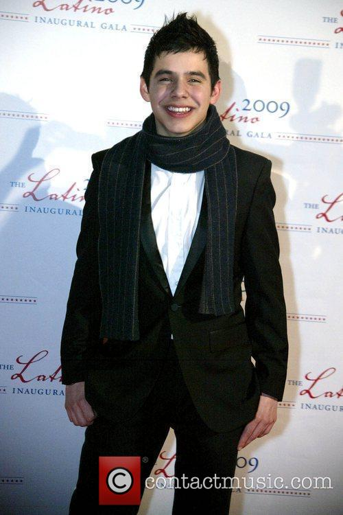 David Archuleta 2009 Latino Inaugural Gala at Union...