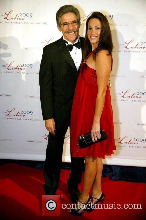 Geraldo Rivera and Erica Levy 2009 Latino Inaugural...