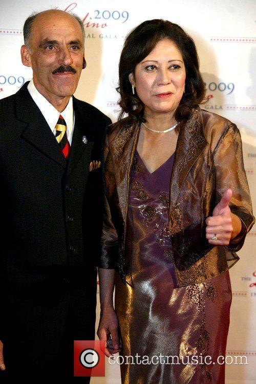 Samuel Solis and Congresswoman Hilda L. Solis 2009...