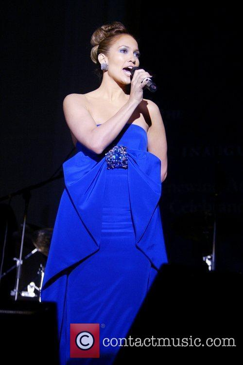 Jennifer Lopez 2009 Latino Inaugural Gala 'Celebrando El...