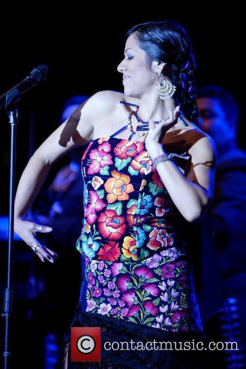 Lila Downs 2009 Latino Inaugural Gala 'Celebrando El...