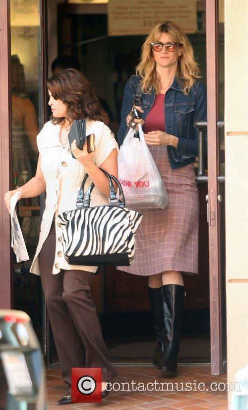 Laura Dern leaving Judi's Delicatessen in Beverly Hills...