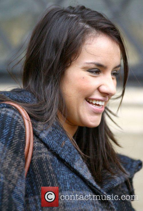 Former X Factor contestant Laura White  leaving...