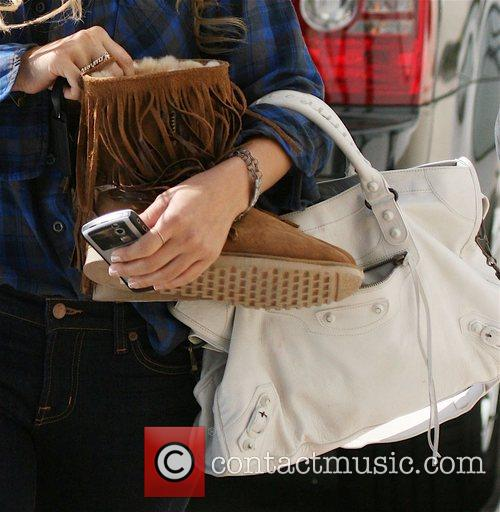 Lauren Conrad spotted leaving a Hair Salon on...