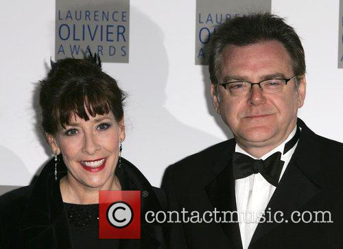 Phyllis Logan, Laurence Olivier, Grosvenor House