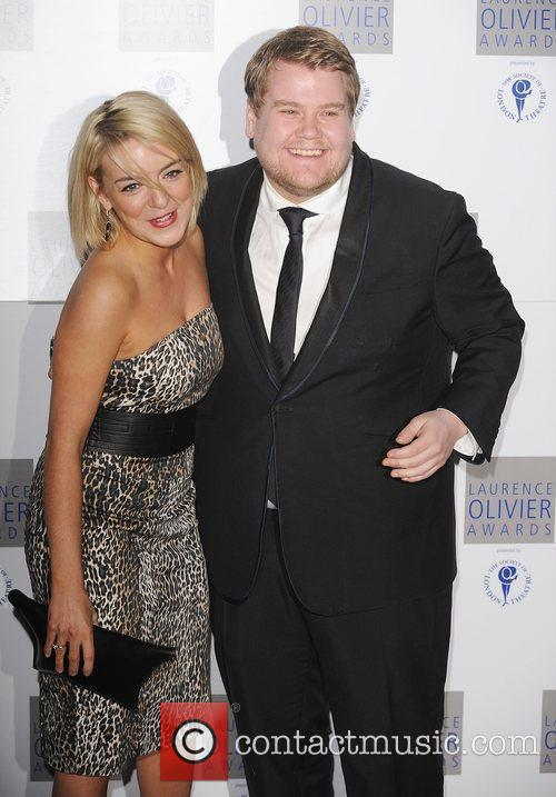 James Corden and guest The Laurence Olivier Awards...