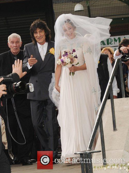 Ronnie Wood and Leah Wood 1