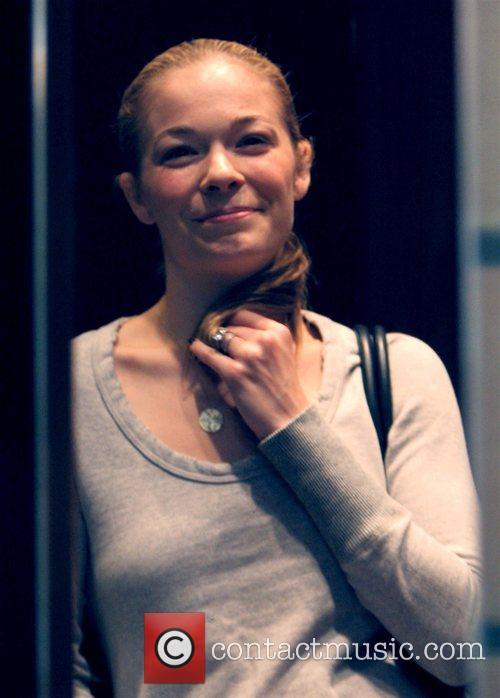 LeAnne Rimes  arrives at a medical centre...