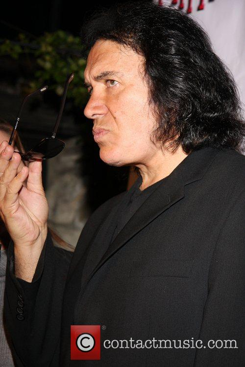Gene Simmons 2nd Annual Leather Meets Lace event...