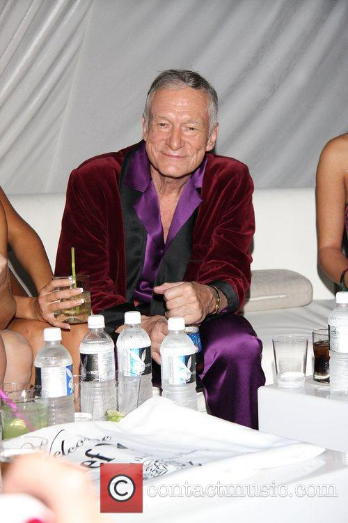 Hugh Hefner 2nd Annual Leather Meets Lace event...