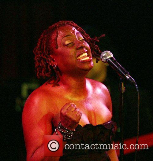 Ledisi performing at B.B. King Blues Club &...