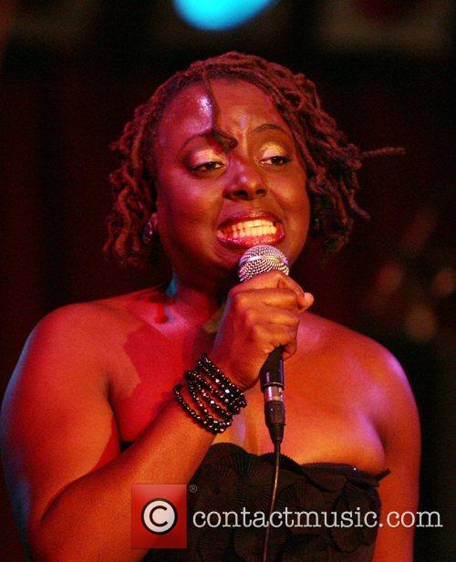 Ledisi performing at B.B. King Blues Club &...