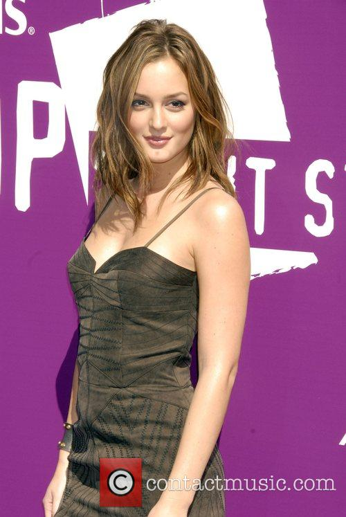 Leighton Meester Leighton Meester and Marshalls take a...