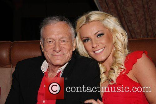 Hugh Hefner and Crystal Harris 2