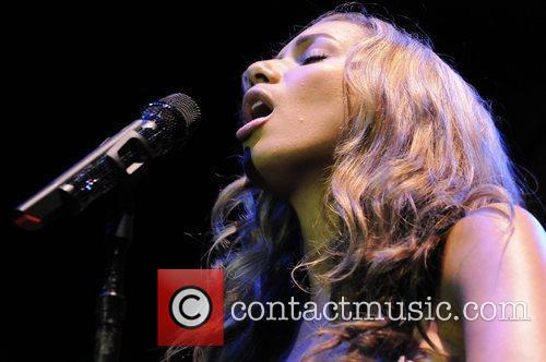 Leona Lewis performing live at the Grammy Celebration...