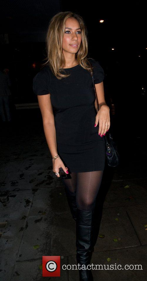 Leona Lewis  leaving the Sanderson Hotel London,...