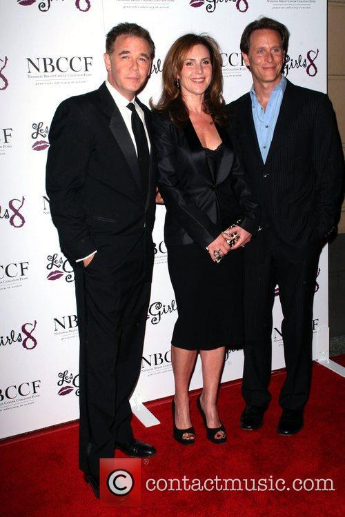 Spencer Garrett, Peri Gilpin and Steven Weber Les...