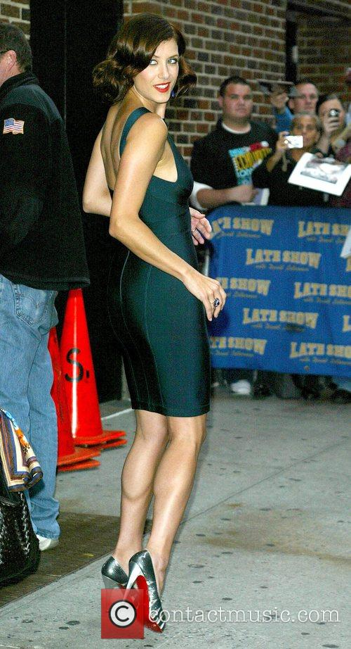Kate Walsh and David Letterman 11