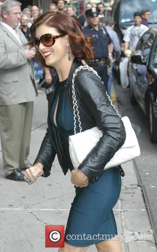 Kate Walsh and David Letterman 5