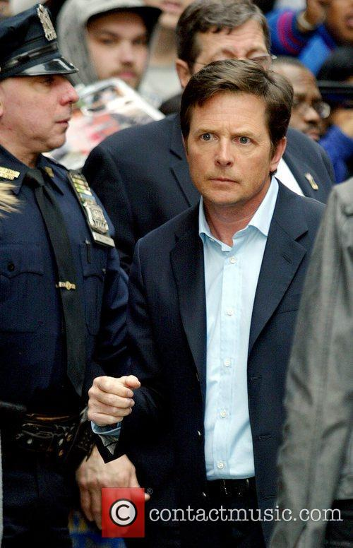 Michael J Fox and David Letterman 8