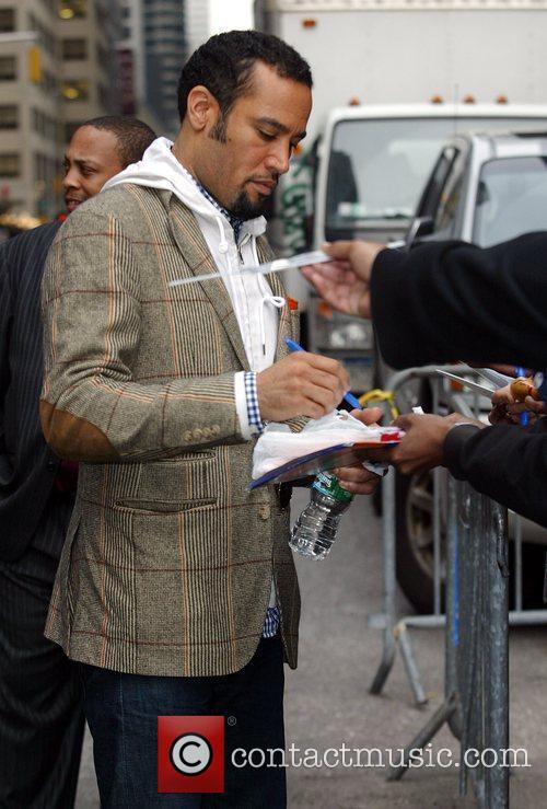 Ben Harper and David Letterman 2