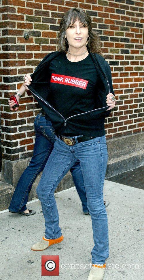 Chrissie Hynde and David Letterman 4