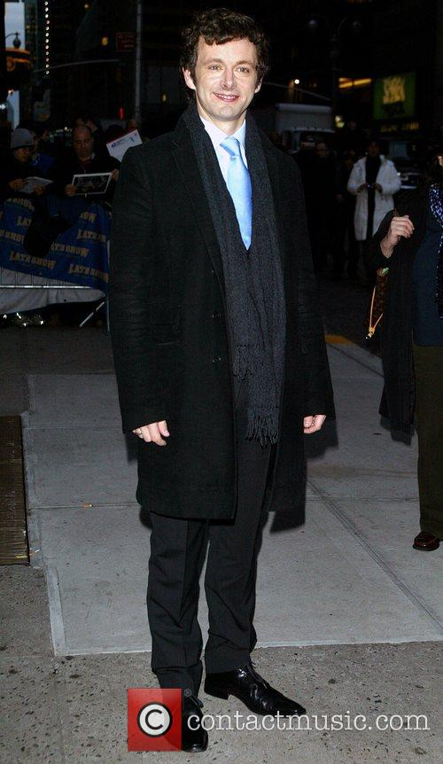 Michael Sheen and David Letterman 1