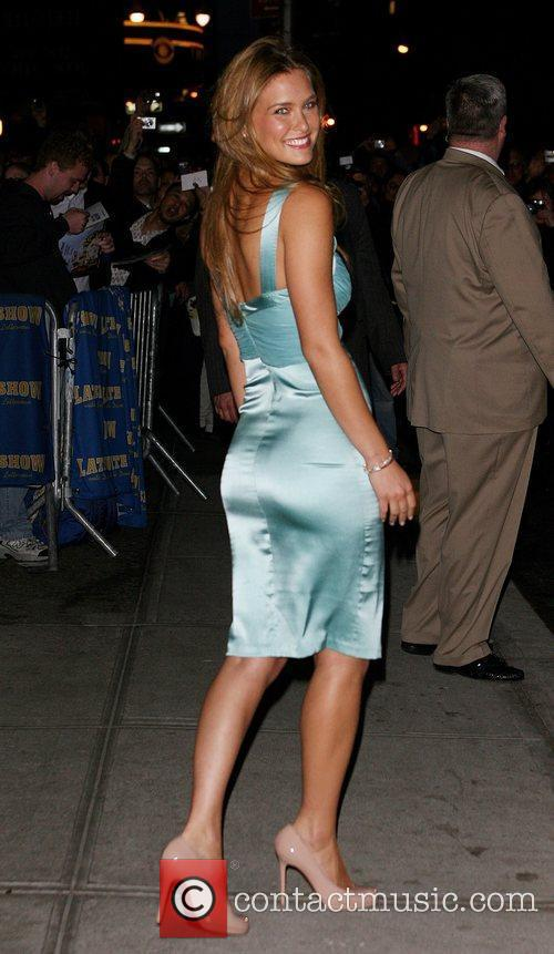 Bar Refaeli and David Letterman 19