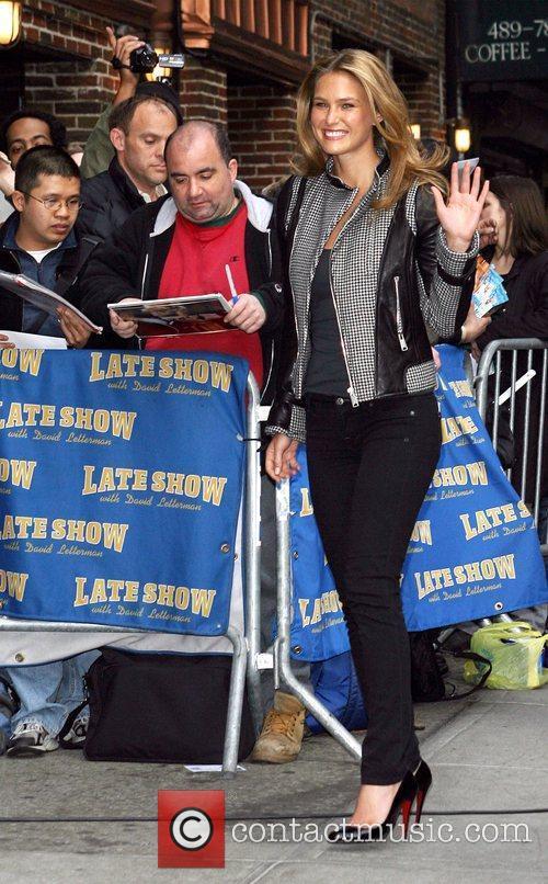 Bar Refaeli and David Letterman 13