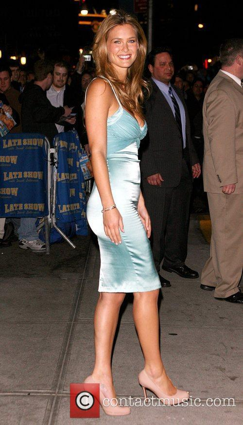 Bar Refaeli and David Letterman 10