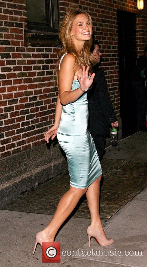 Bar Refaeli and David Letterman 22