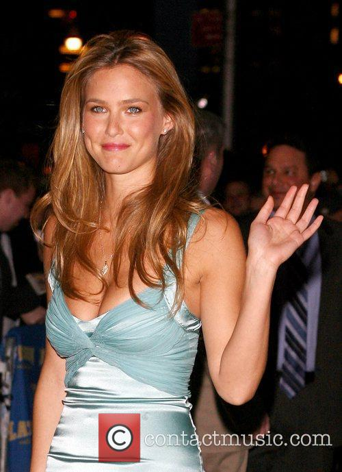 Bar Refaeli and David Letterman 14