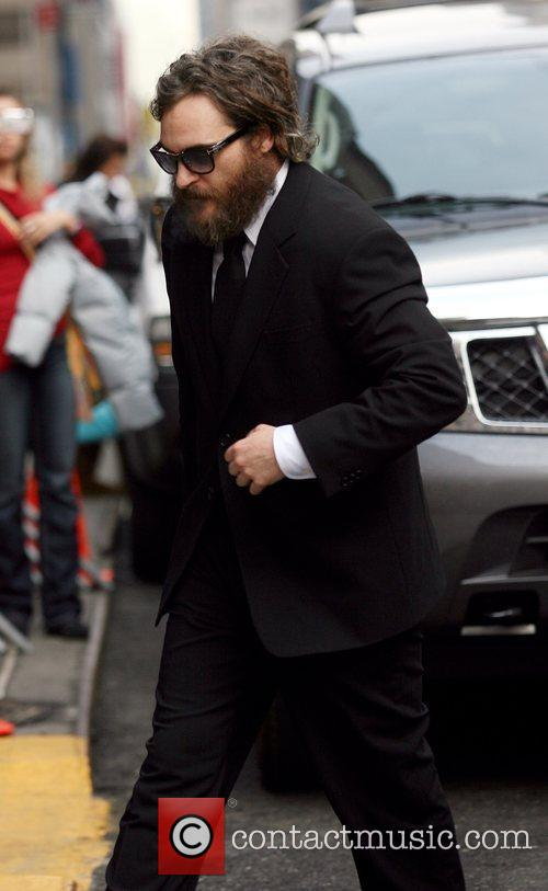 Joaquin Phoenix and David Letterman 4